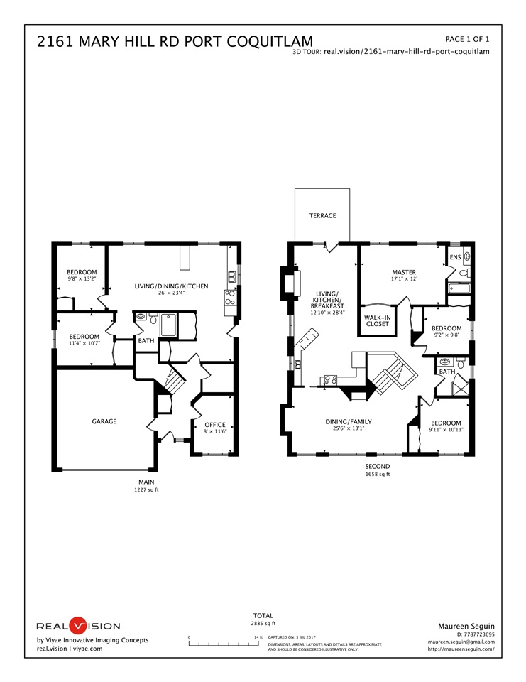 Detached at 2161 MARY HILL ROAD, Port Coquitlam, British Columbia. Image 20