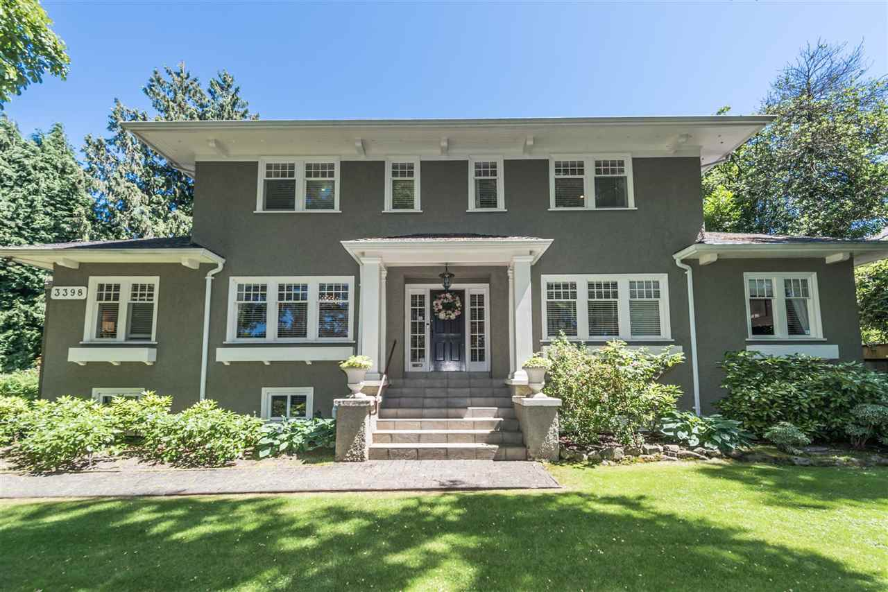 Detached at 3398 CYPRESS STREET, Vancouver West, British Columbia. Image 1
