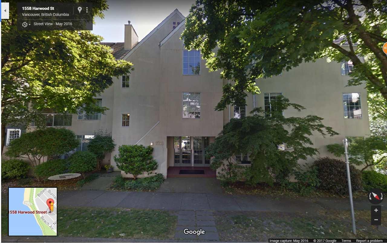 Condo Apartment at 102 1558 HARWOOD STREET, Unit 102, Vancouver West, British Columbia. Image 1