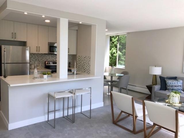 Condo Apartment at 609 2004 FULLERTON AVENUE, Unit 609, North Vancouver, British Columbia. Image 4