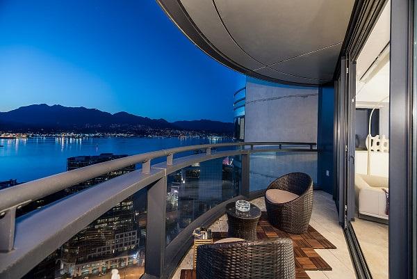 Condo Apartment at 3504 838 W HASTINGS STREET, Unit 3504, Vancouver West, British Columbia. Image 3