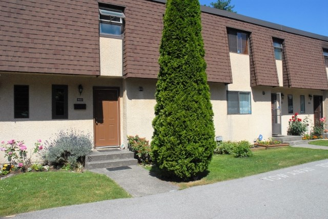 Townhouse at 883 OLD LILLOOET ROAD, North Vancouver, British Columbia. Image 1