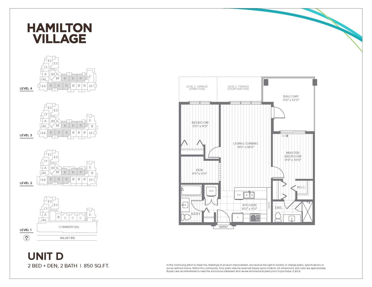 Condo Apartment at 406 23233 GILLEY ROAD, Unit 406, Richmond, British Columbia. Image 1
