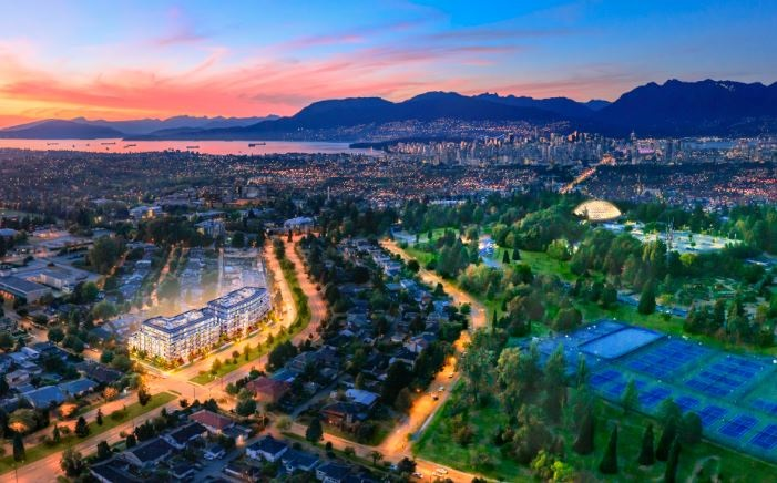 Condo Apartment at N606 5189 CAMBIE STREET, Unit N606, Vancouver West, British Columbia. Image 2
