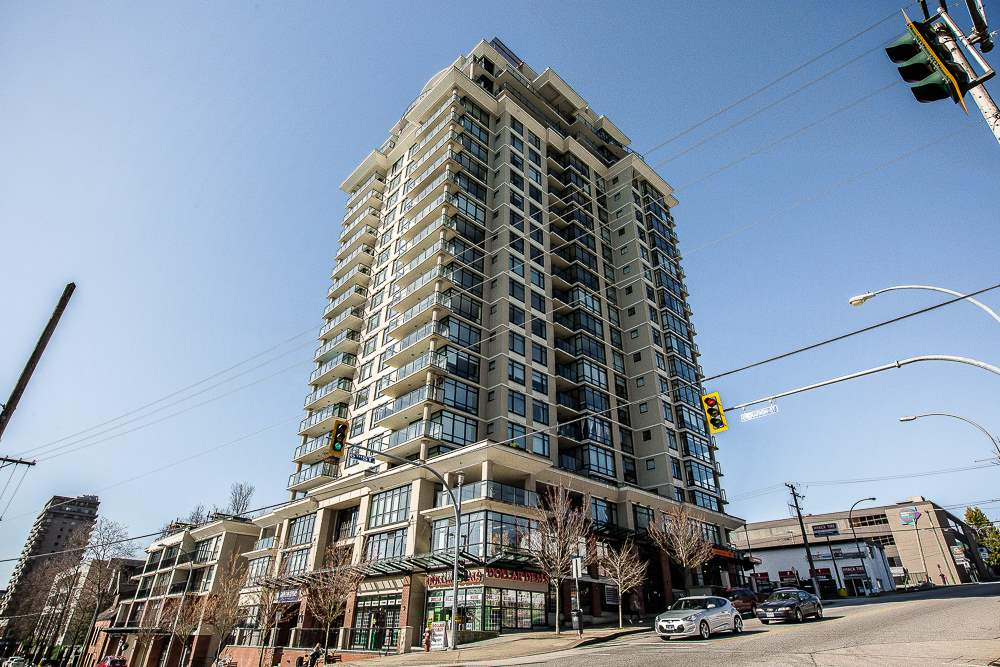 Condo Apartment at 801 610 VICTORIA STREET, Unit 801, New Westminster, British Columbia. Image 1