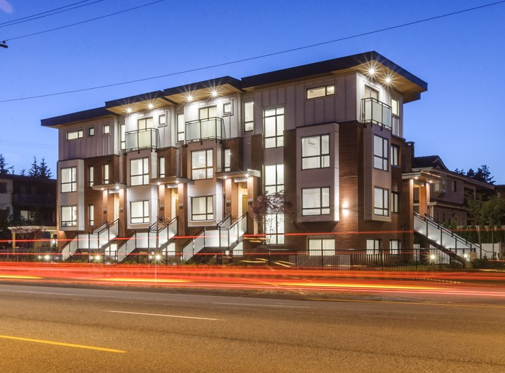 Townhouse at 977 W 70TH AVENUE, Vancouver West, British Columbia. Image 1