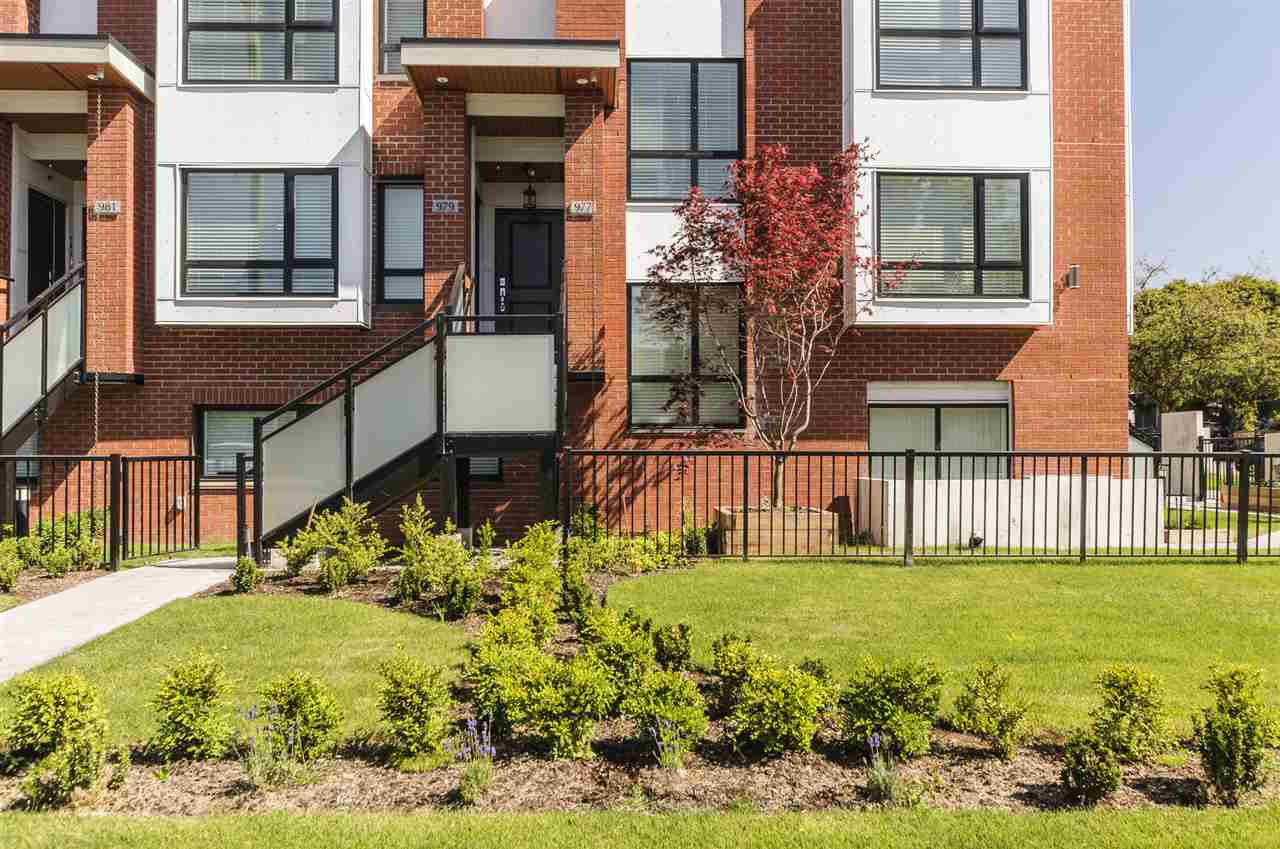 Townhouse at 977 W 70TH AVENUE, Vancouver West, British Columbia. Image 2