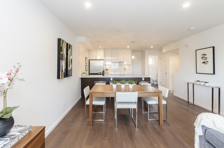 Townhouse at 977 W 70TH AVENUE, Vancouver West, British Columbia. Image 7