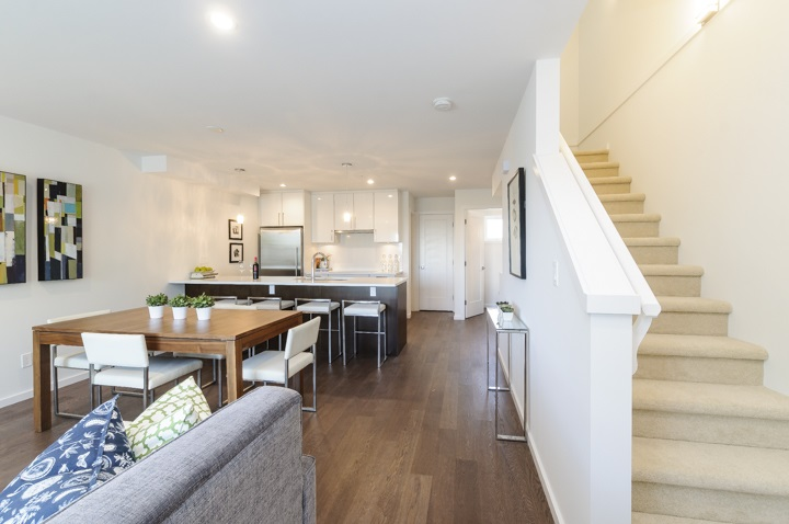 Townhouse at 977 W 70TH AVENUE, Vancouver West, British Columbia. Image 12
