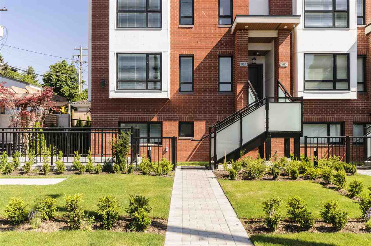 Townhouse at 987 W 70TH AVENUE, Vancouver West, British Columbia. Image 3