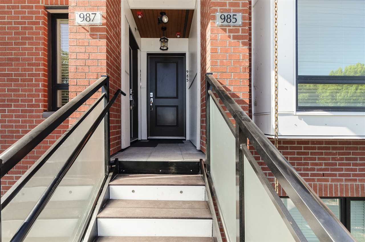 Townhouse at 987 W 70TH AVENUE, Vancouver West, British Columbia. Image 4