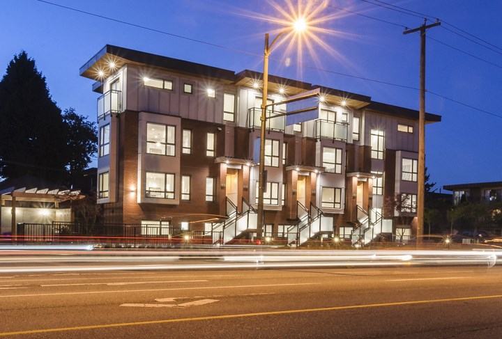 Townhouse at 985 W 70TH AVENUE, Vancouver West, British Columbia. Image 1