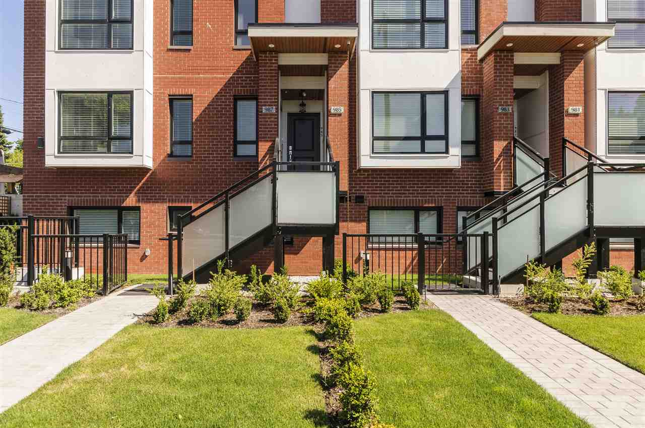 Townhouse at 985 W 70TH AVENUE, Vancouver West, British Columbia. Image 4