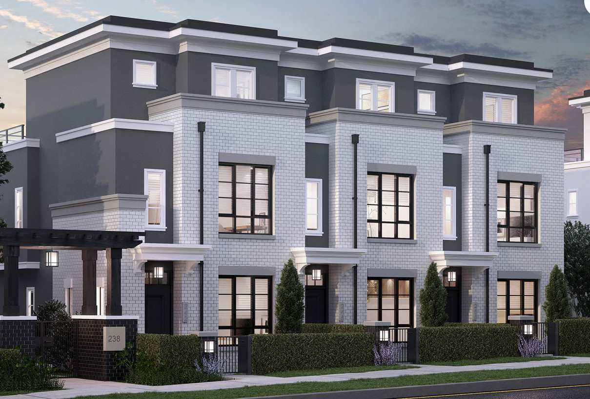 Townhouse at 258 W 62ND AVENUE, Vancouver West, British Columbia. Image 1