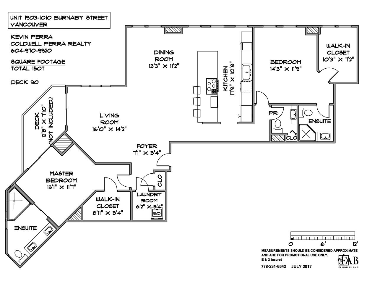 Condo Apartment at 1903 1010 BURNABY STREET, Unit 1903, Vancouver West, British Columbia. Image 19