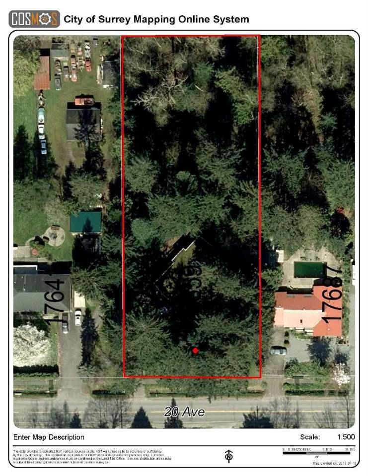 Detached at 17659 20 AVENUE, South Surrey White Rock, British Columbia. Image 1