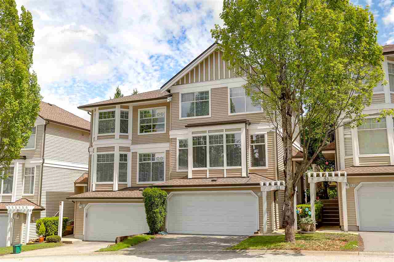 Townhouse at 54 5950 OAKDALE ROAD, Unit 54, Burnaby South, British Columbia. Image 1