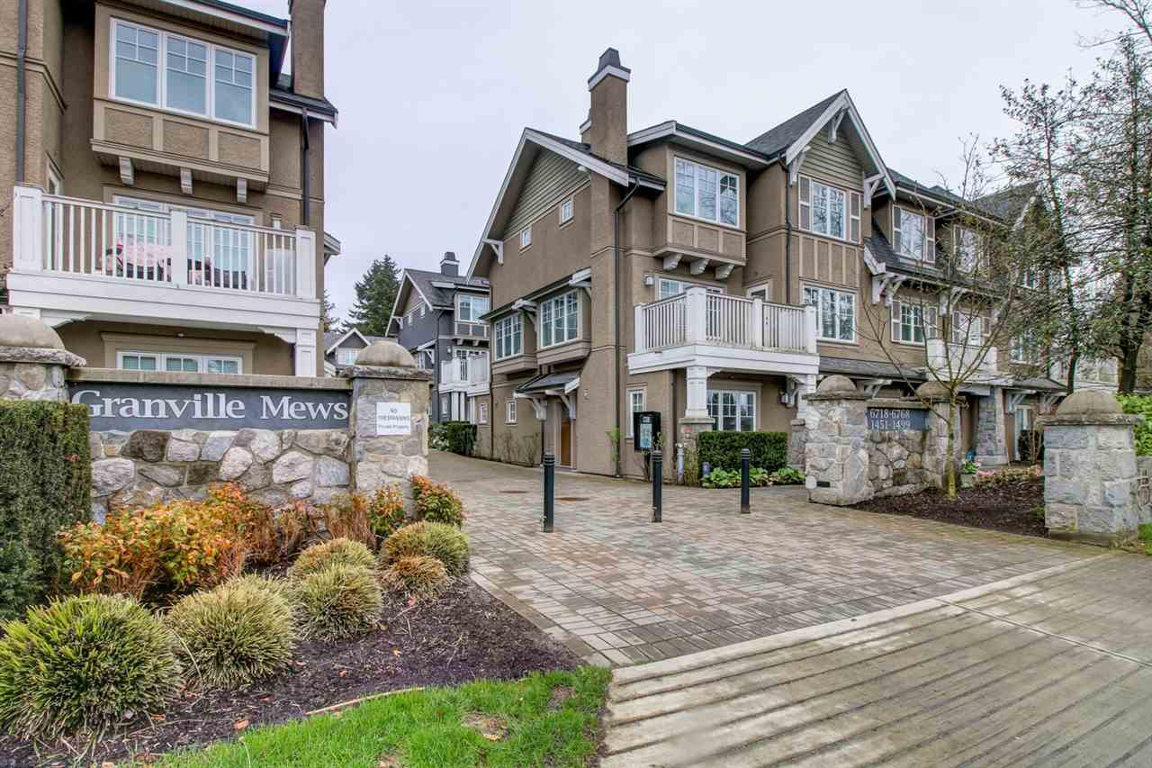 Townhouse at 6766 GRANVILLE STREET, Vancouver West, British Columbia. Image 1