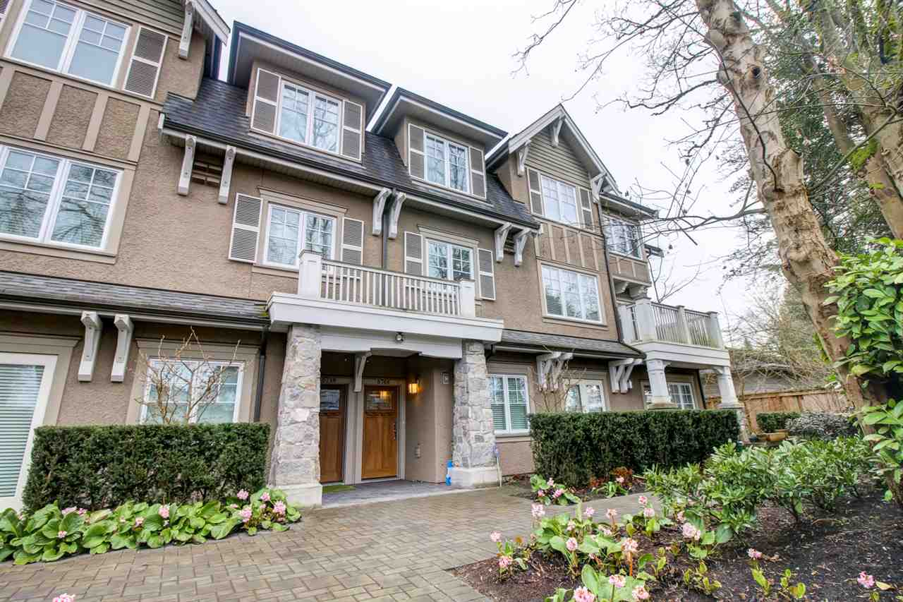 Townhouse at 6766 GRANVILLE STREET, Vancouver West, British Columbia. Image 3