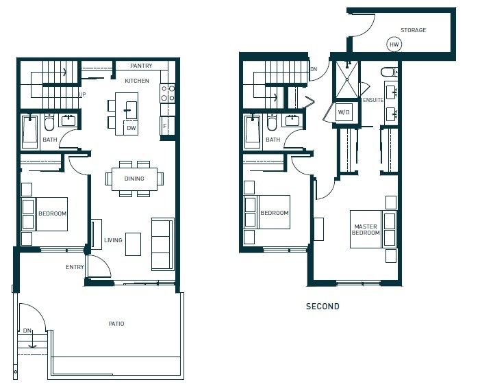 Townhouse at TH3 1012 AUCKLAND STREET, Unit TH3, New Westminster, British Columbia. Image 12