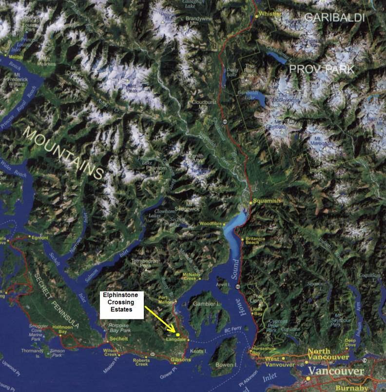 Vacant Land at DL 1354 STORVOLD ROAD, Sunshine Coast, British Columbia. Image 9