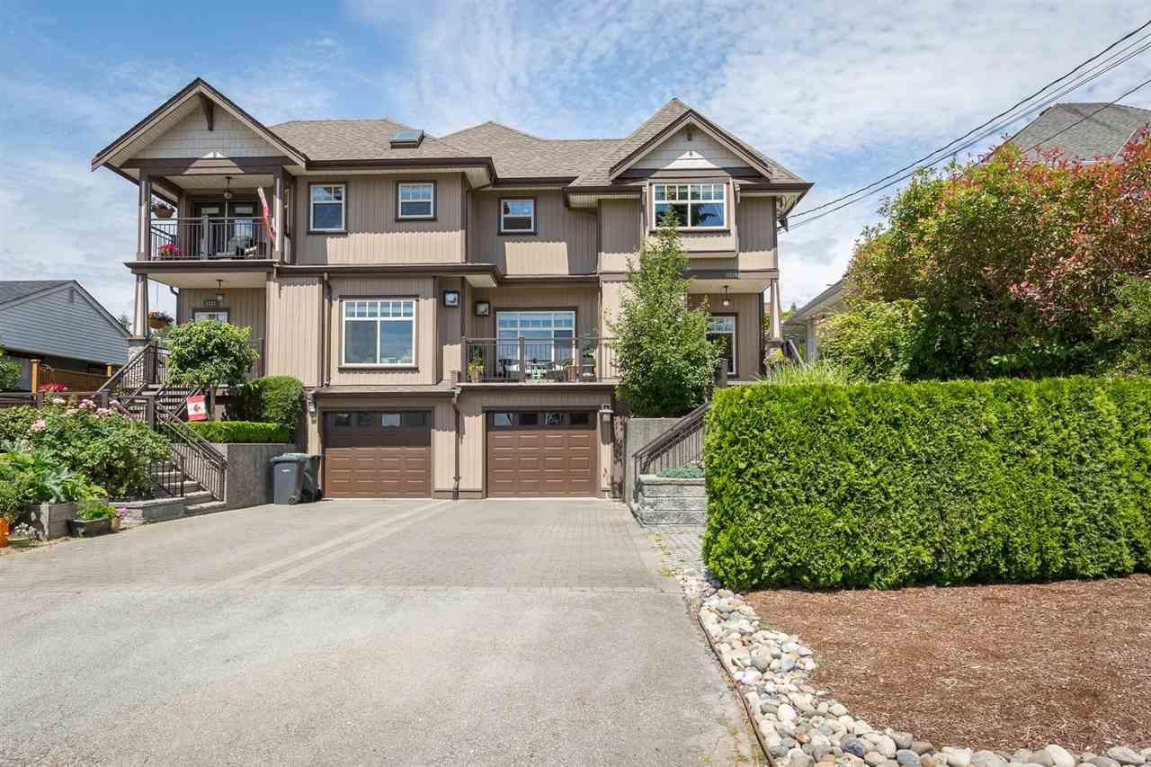 Half-duplex at 1539 HAMMOND AVENUE, Coquitlam, British Columbia. Image 1