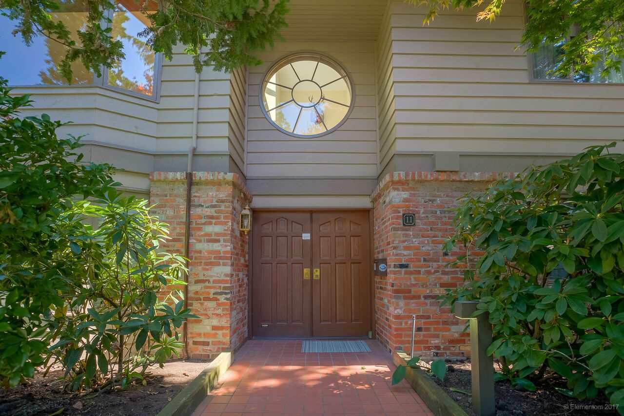 Townhouse at 11 4900 CARTIER STREET, Unit 11, Vancouver West, British Columbia. Image 1