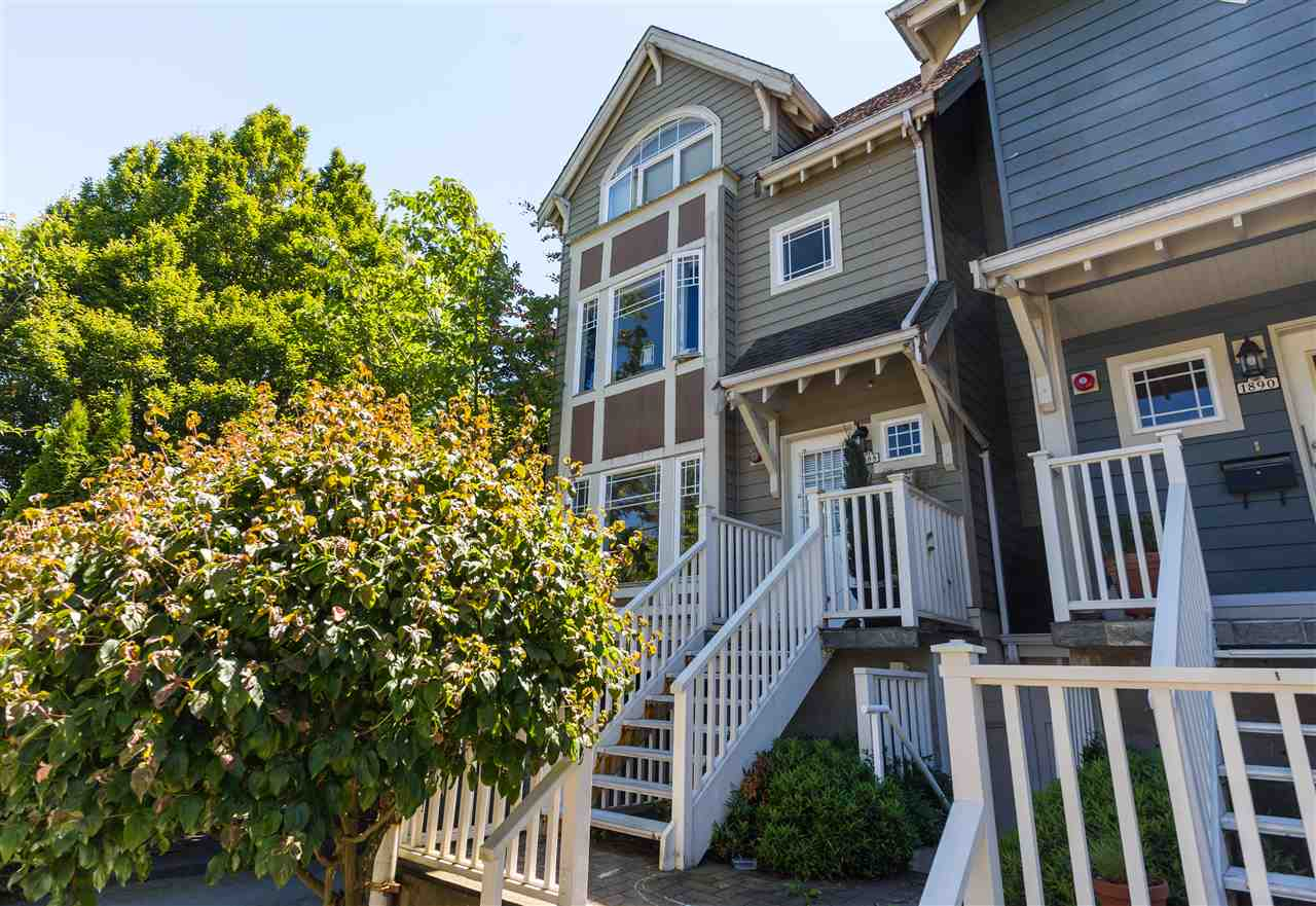 Townhouse at 1888 W 5TH AVENUE, Vancouver West, British Columbia. Image 1