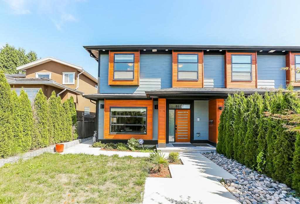 Half-duplex at 6681 DUNNEDIN STREET, Burnaby North, British Columbia. Image 2
