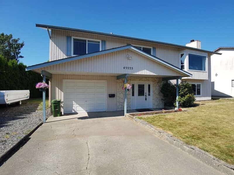 Detached at 45535 PERTH AVENUE, Sardis, British Columbia. Image 2