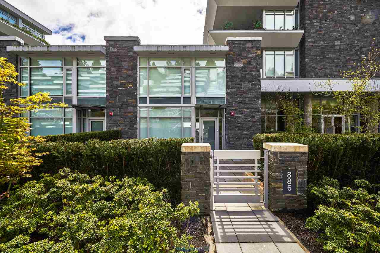 Townhouse at 886 ARTHUR ERICKSON PLACE, West Vancouver, British Columbia. Image 1
