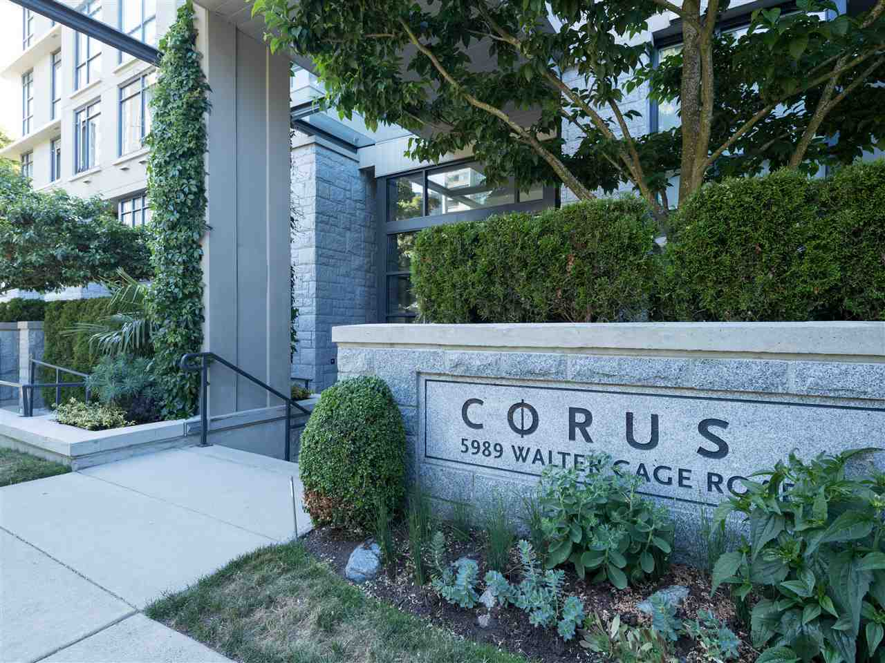 Condo Apartment at TH8 5991 WALTER GAGE ROAD, Unit TH8, Vancouver West, British Columbia. Image 2