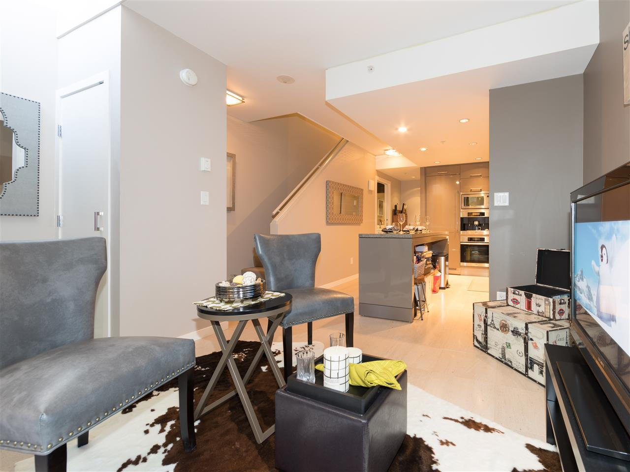 Condo Apartment at TH8 5991 WALTER GAGE ROAD, Unit TH8, Vancouver West, British Columbia. Image 4