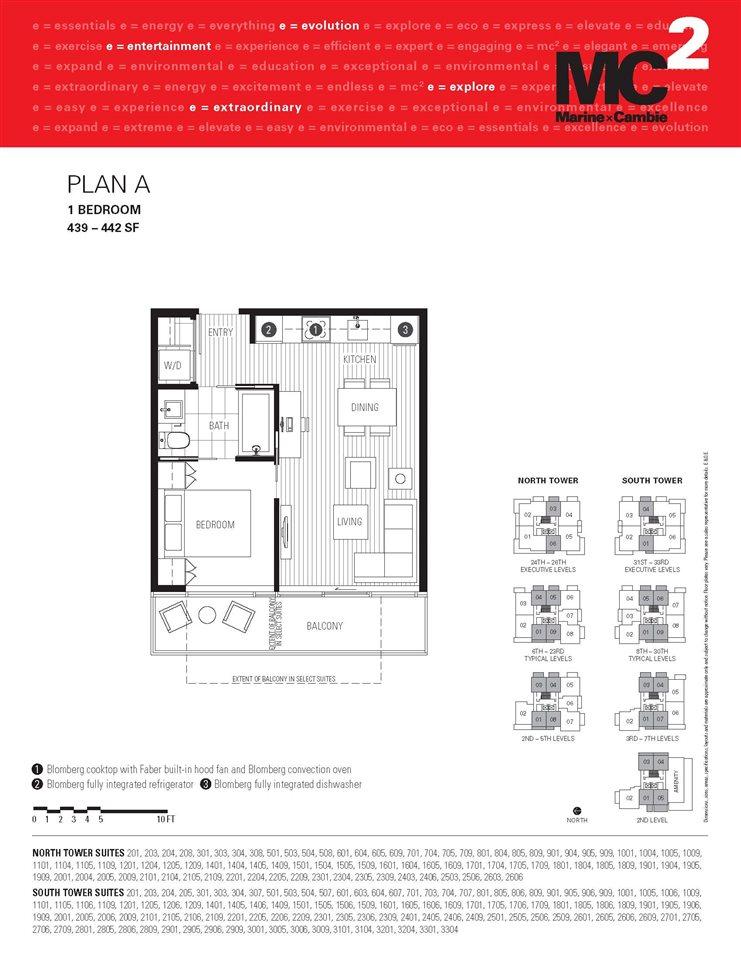 Condo Apartment at 2309 8131 NUNAVUT LANE, Unit 2309, Vancouver West, British Columbia. Image 15