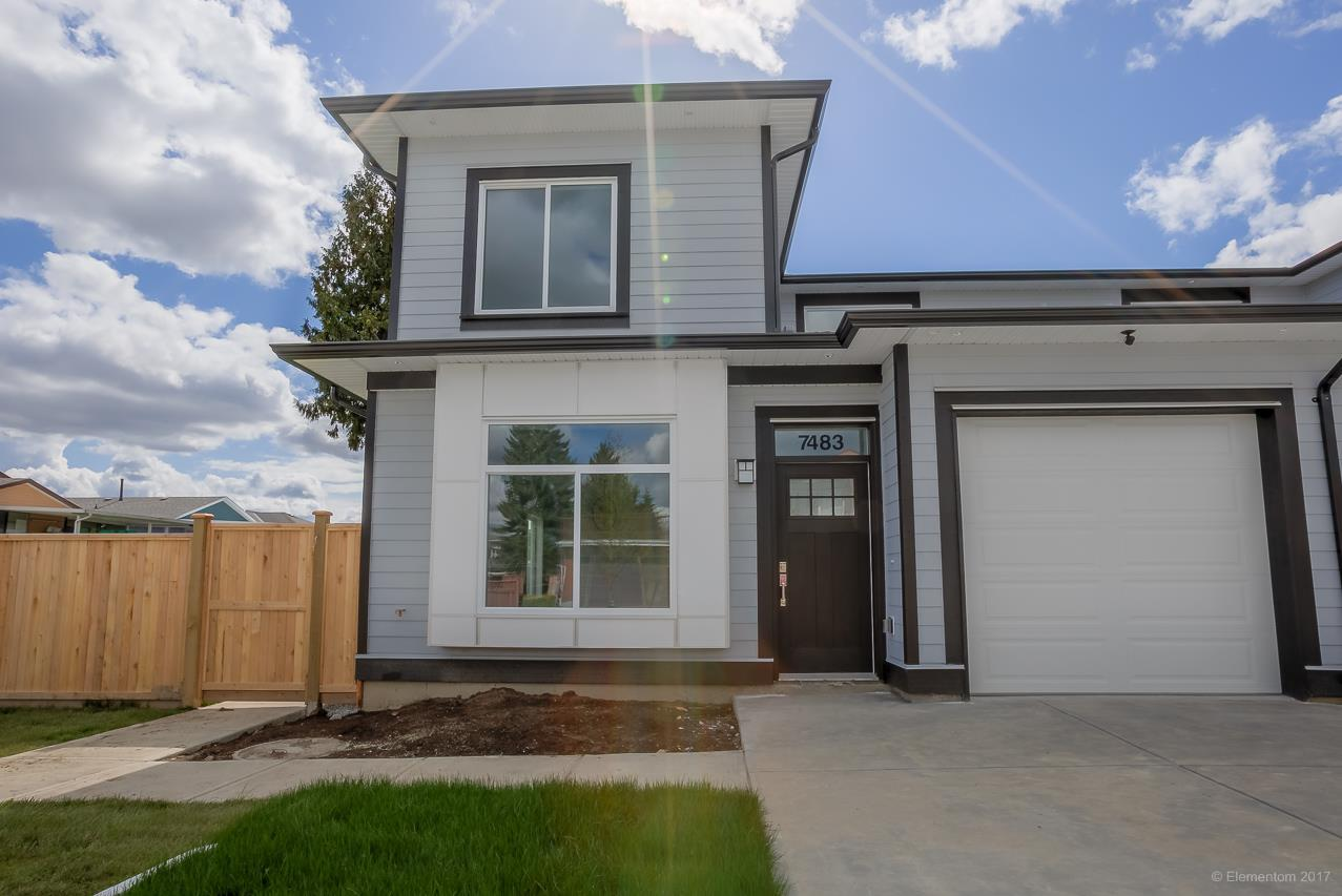 Half-duplex at 7483 MARY AVENUE, Burnaby East, British Columbia. Image 1