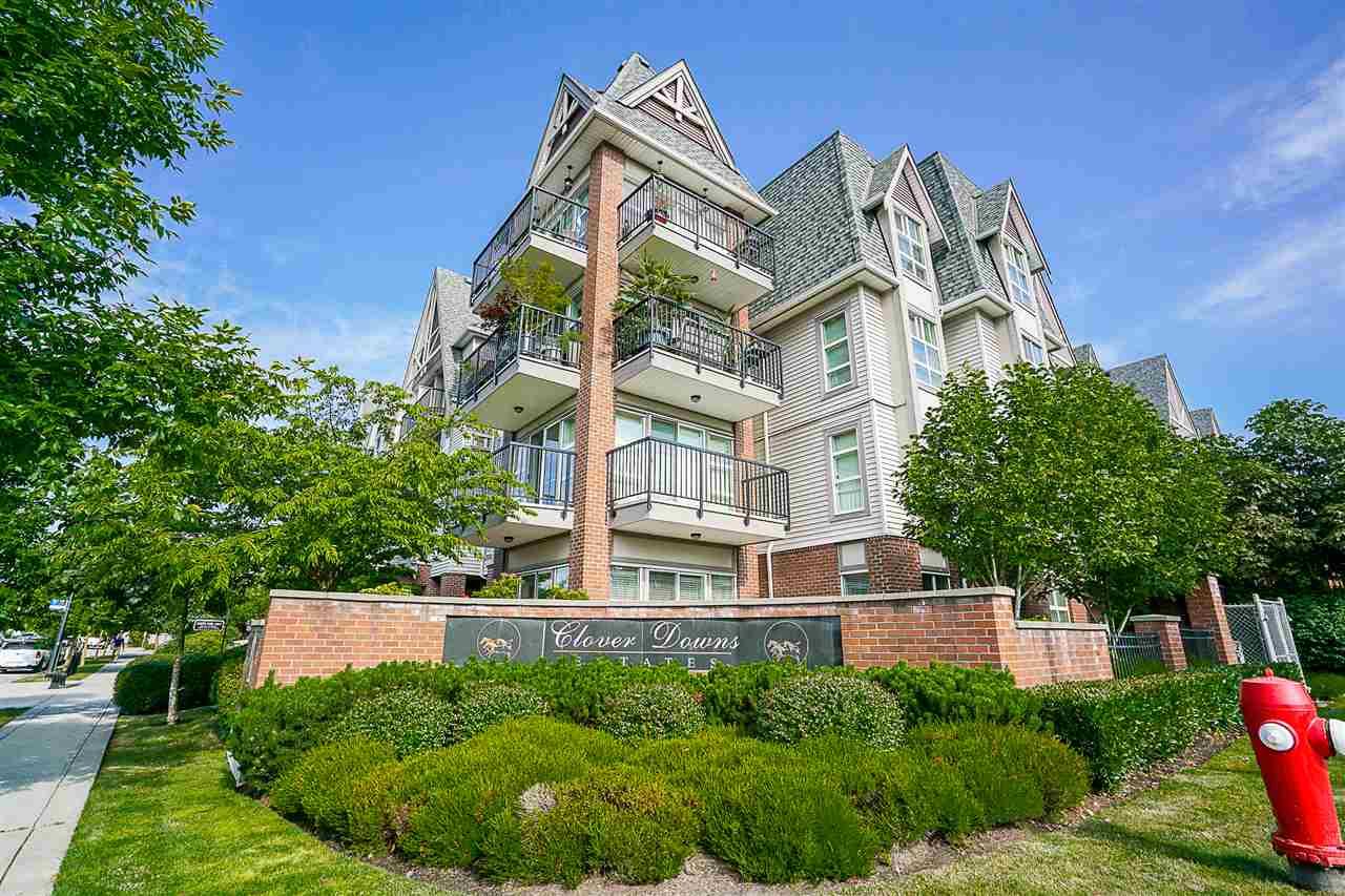 Condo Apartment at 316 17769 57 AVENUE, Unit 316, Cloverdale, British Columbia. Image 1