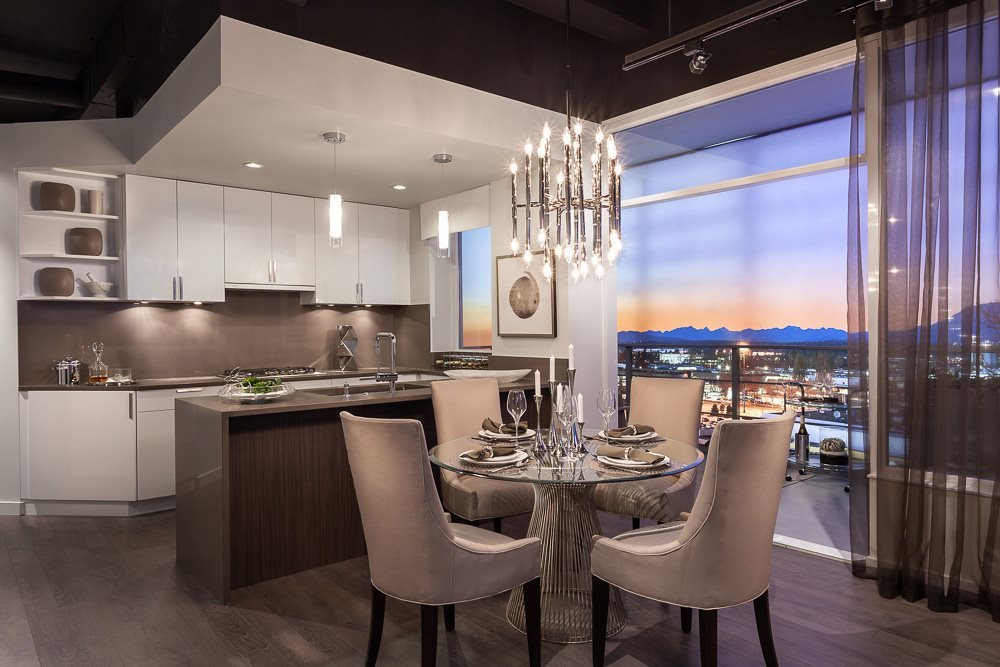 Condo Apartment at 606 5599 COONEY ROAD, Unit 606, Richmond, British Columbia. Image 4