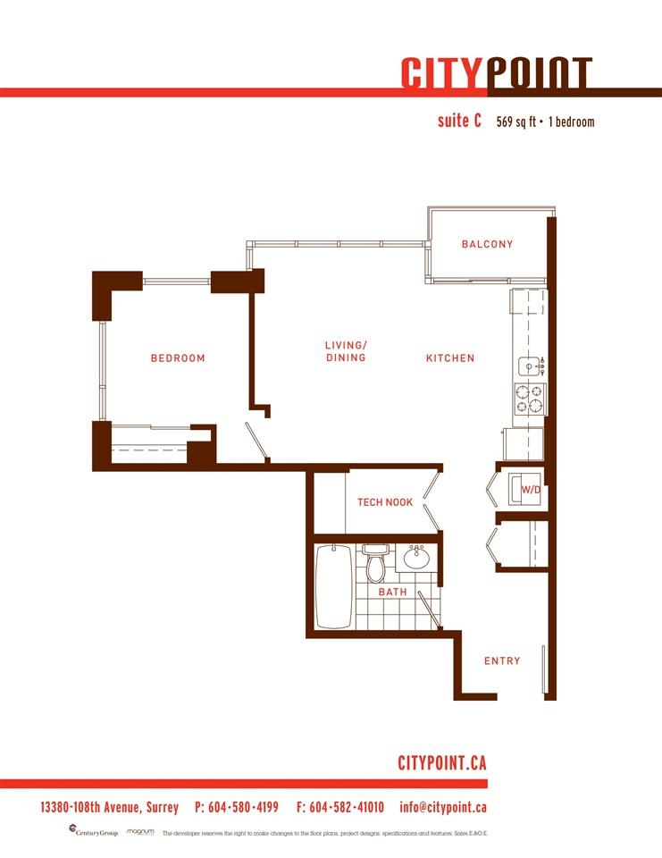 Condo Apartment at 303 13380 108 AVENUE, Unit 303, North Surrey, British Columbia. Image 18