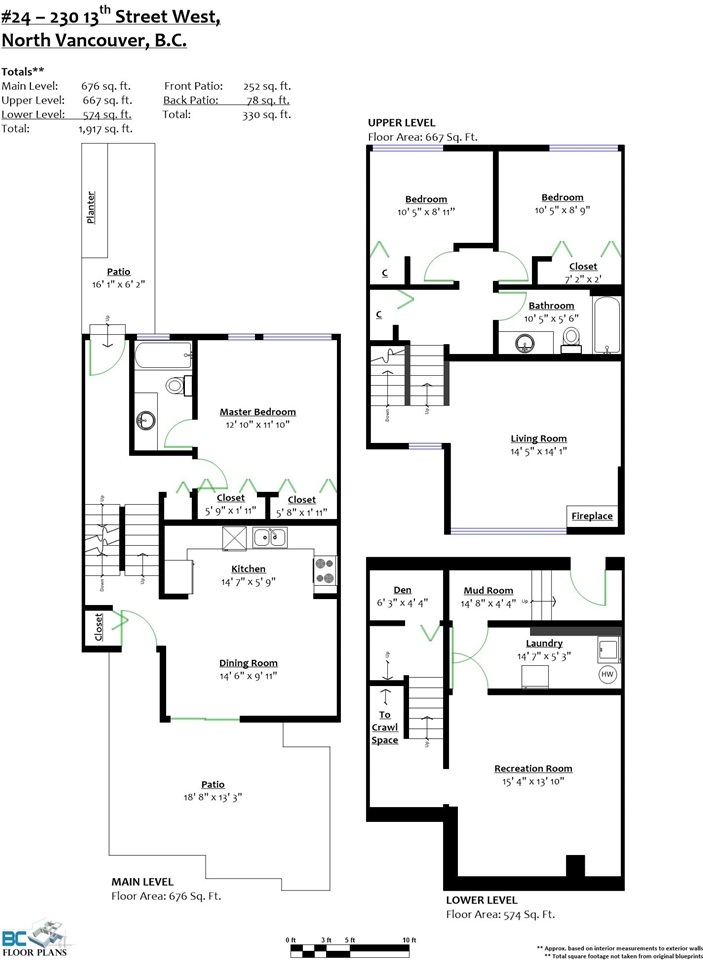 Townhouse at 24 230 W 13 STREET, Unit 24, North Vancouver, British Columbia. Image 18