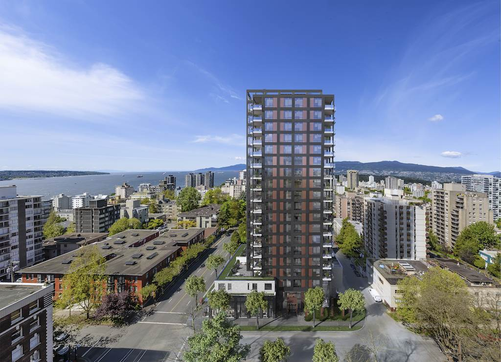 Condo Apartment at 1102 1171 JERVIS STREET, Unit 1102, Vancouver West, British Columbia. Image 4