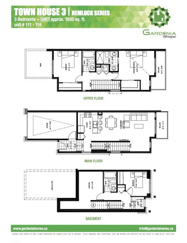 Townhouse at 112 3525 CHANDLER STREET, Unit 112, Coquitlam, British Columbia. Image 2