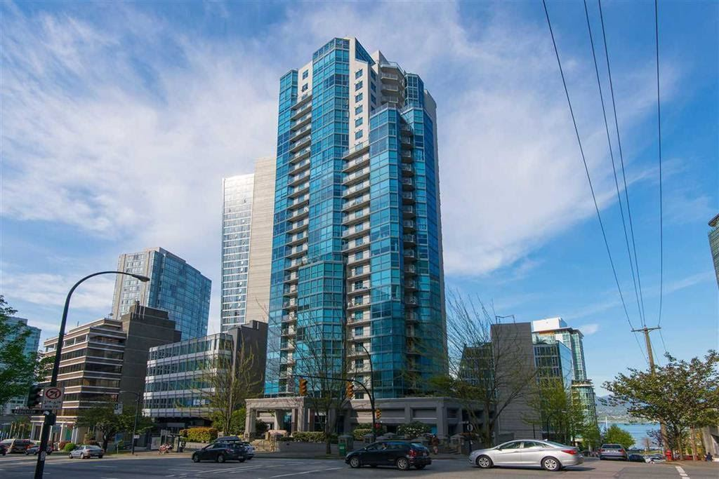 Condo Apartment at 1704 1415 W GEORGIA STREET, Unit 1704, Vancouver West, British Columbia. Image 2