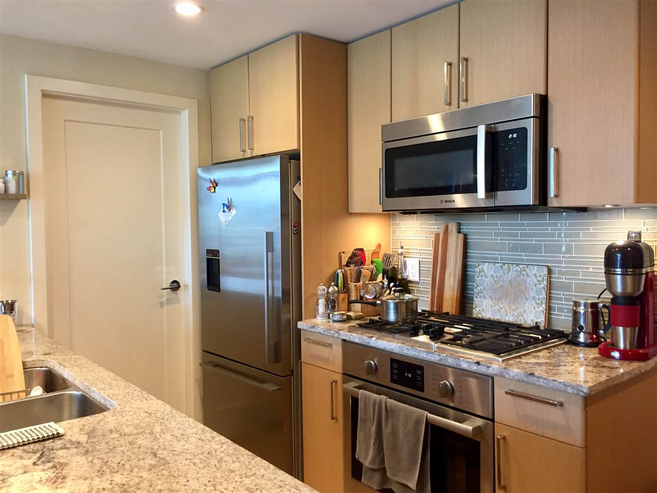 Condo Apartment at 805 88 W 1ST AVENUE, Unit 805, Vancouver West, British Columbia. Image 4