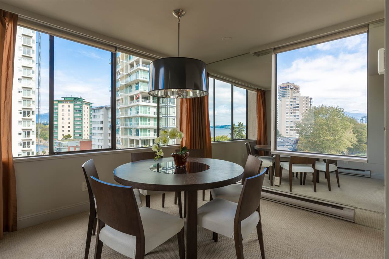 Condo Apartment at 801 1236 BIDWELL STREET, Unit 801, Vancouver West, British Columbia. Image 7