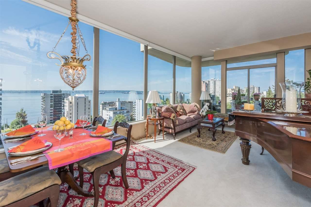 Condo Apartment at 1001 570 18TH STREET, Unit 1001, West Vancouver, British Columbia. Image 4
