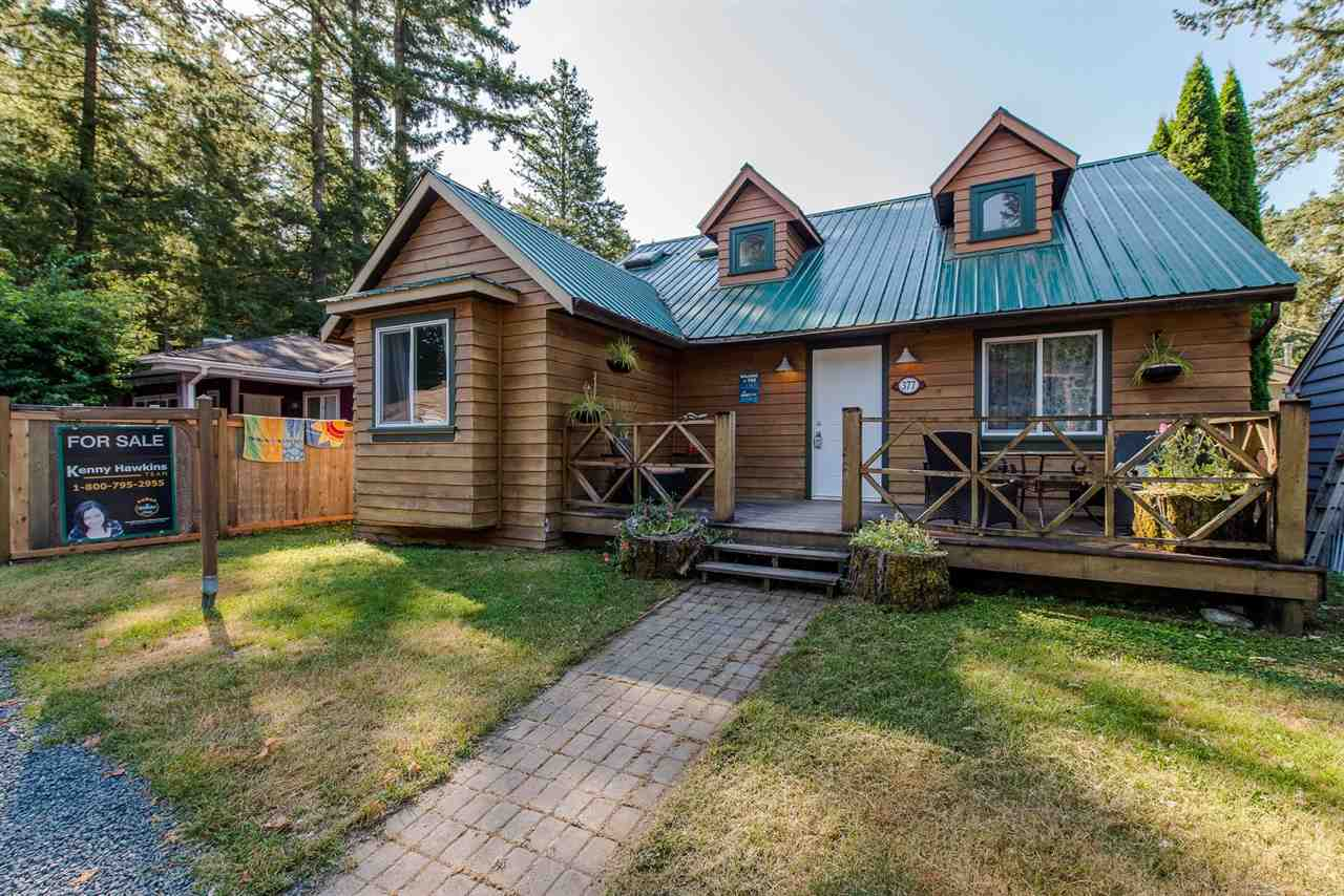 Detached at 377 CEDAR STREET, Cultus Lake, British Columbia. Image 1
