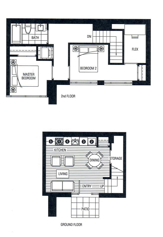 Condo Apartment at 21 77 WALTER HARDWICK AVENUE, Unit 21, Vancouver West, British Columbia. Image 14