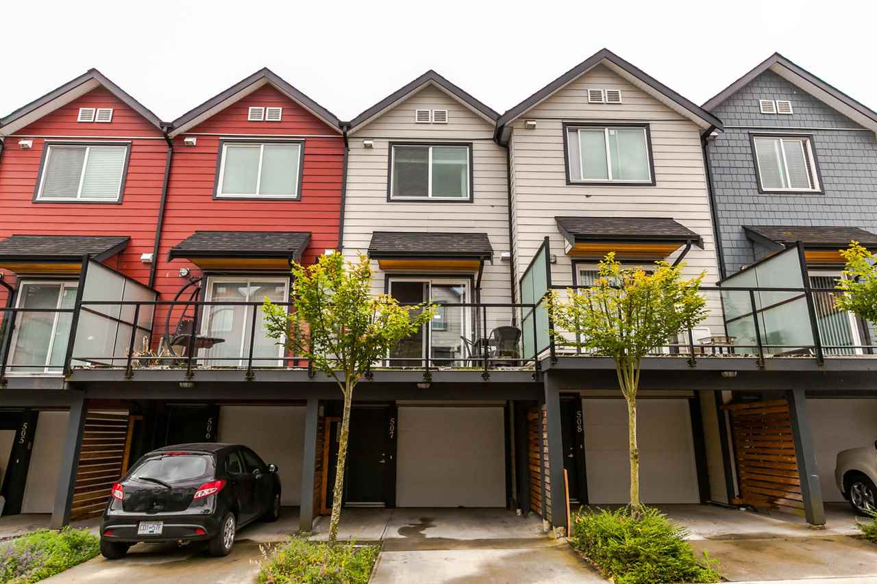 Townhouse at 507 7533 GILLEY AVENUE, Unit 507, Burnaby South, British Columbia. Image 2