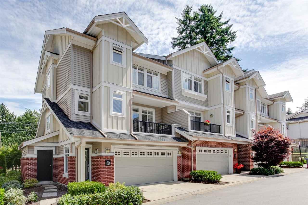 Townhouse at 18 2925 KING GEORGE BOULEVARD, Unit 18, South Surrey White Rock, British Columbia. Image 1
