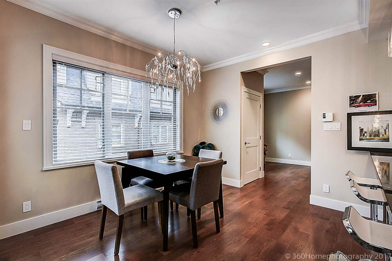 Townhouse at 1489 TILNEY MEWS, Vancouver West, British Columbia. Image 4